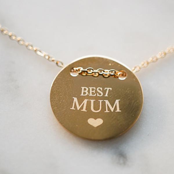 ZAG Bijoux ZAG Bijoux - Best mom ketting goud