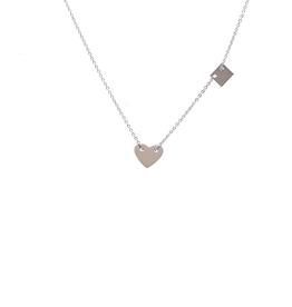 ZAG Bijoux ZAG Bijoux - ketting hart zilver