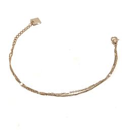 ZAG Bijoux Armband ZAG Bijoux - Dubbele armband white beads