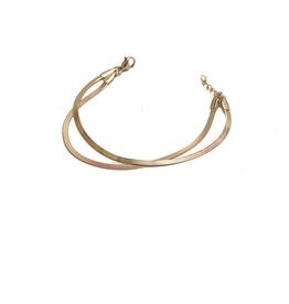 ZAG Bijoux Armband ZAG Bijoux - Dubbele armband snake goud
