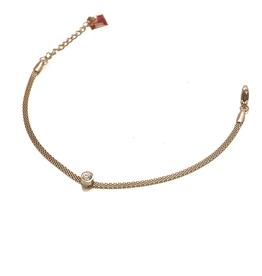 ZAG Bijoux Armband ZAG Bijoux - Flat swarovski goud