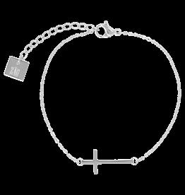 ZAG Bijoux Armband ZAG Bijoux - Kruisje zilver