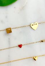 ZAG Bijoux ZAG Bijoux - ketting hart goud