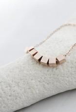 ZAG Bijoux ZAG Bijoux -  Kubus/cubes rose goud armband