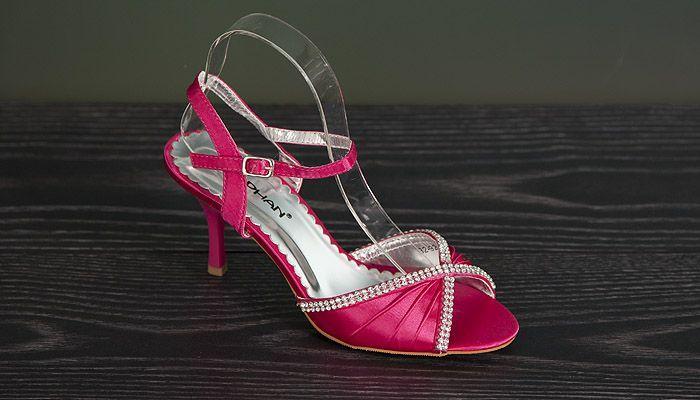 Satijnen peep-too pumps/sandalen
