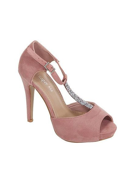 Roze pumps 2018107