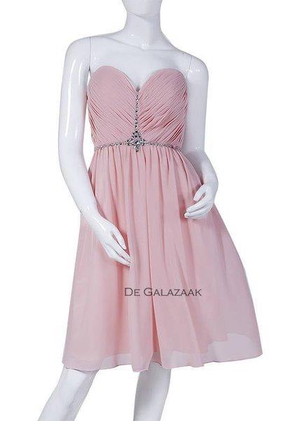 Cocktailjurk roze 202009