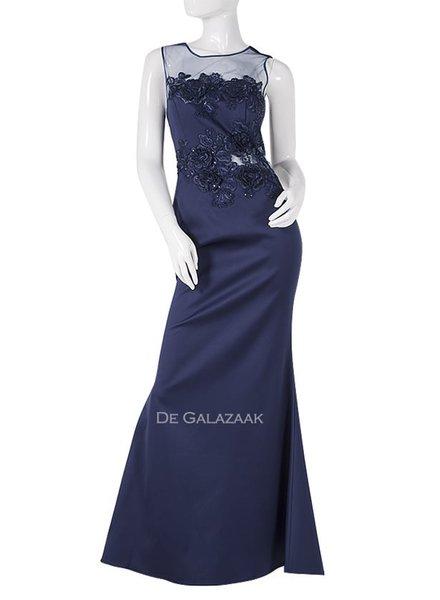 Donkerblauwe galajurk outlet - 202116