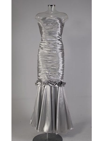 Galajurk zilver met fishtail 12224