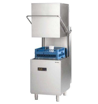 Stalgast Lave-Vaisselle à Capot 50x50cm | Doseur de Rinçage + Lavage | 400V