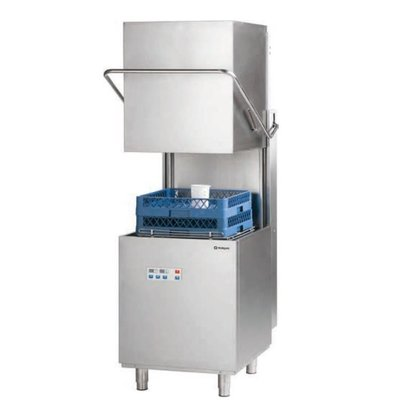 Stalgast Lave-Vaisselle à Capot DIGITAL | Doseur de Rinçage + Lavage | 400V
