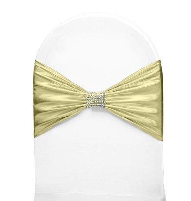 Unicover Bande de Chaise Banquet | Crème | Taille Unique