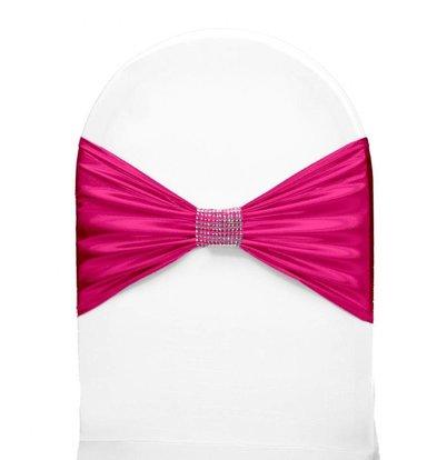 Unicover Bande de Chaise Banquet | Rose | Taille Unique
