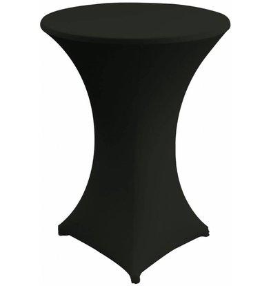 Unicover Housse de Table Cocktail VENUS   Noir   Disponibles en 3 Tailles