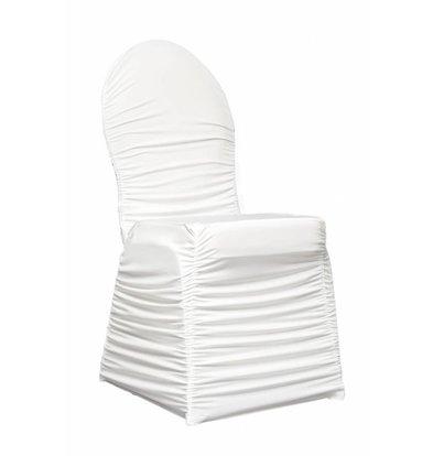 Unicover Housse de Chaise Banquet CORE   Blanc   Taille Unique
