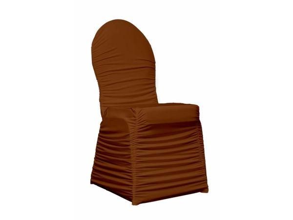Unicover Housse de Chaise Banquet CORE | Chocolate | Taille Unique
