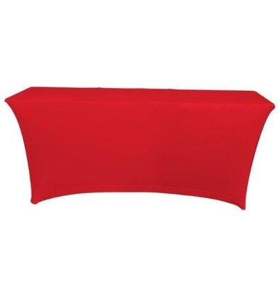 Unicover Housse de Table Banquet SATURN | Rouge | Disponibles en 2 Tailles