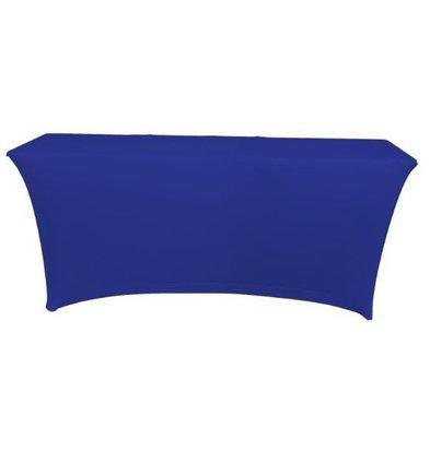 Unicover Housse de Table Banquet SATURN | Bleu Foncé | Disponibles en 2 Tailles