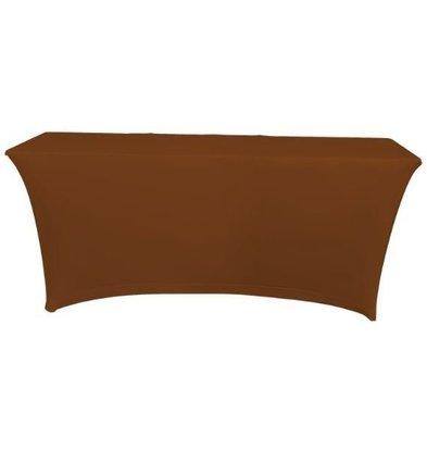Unicover Housse de Table Banquet SATURN | Chocolate | Disponibles en 2 Tailles