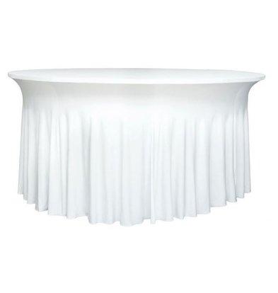 Unicover Housse de Table Banquet DELUXE   Blanc   Disponibles en 3 Tailles