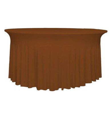 Unicover Housse de Table Banquet DELUXE | Chocolate | Disponibles en 3 Tailles