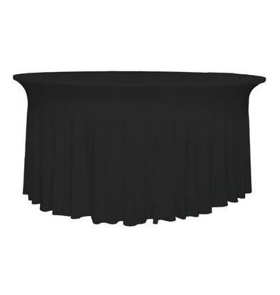 Unicover Housse de Table Banquet DELUXE | Noir | Disponibles en 3 Tailles