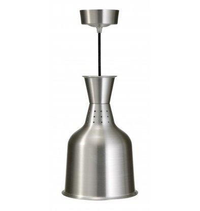 Saro Lampe Chauffante Aluminium | 250W | Ø184x288mm | Ampoule Incluse