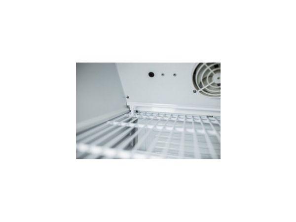 Saro Frigo Acier Blanc | 130 Litres | Froid Ventilé | 600x580x850(h)mm