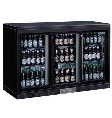 Polar Comptoir de Bar | 3 Portes Coulissantes | Pour 268 Bouteilles | 920(h)mm