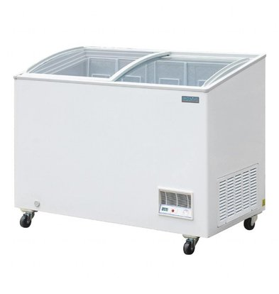 Polar Congélateur Coffre Vitré   270 Litres   1195x654x928(h)mm