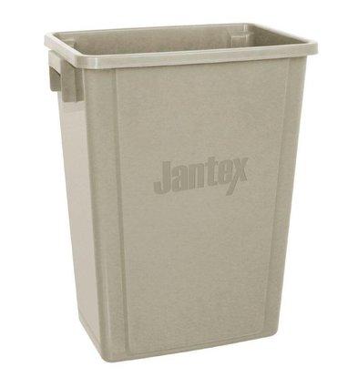 CHRselect Conteneur de Recyclage Jantex Beige   56 Litres   Sans Couvercle