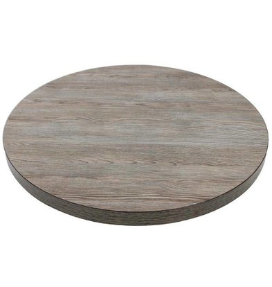 CHRselect Plateau de Table Vintage Wood | Ø600mm
