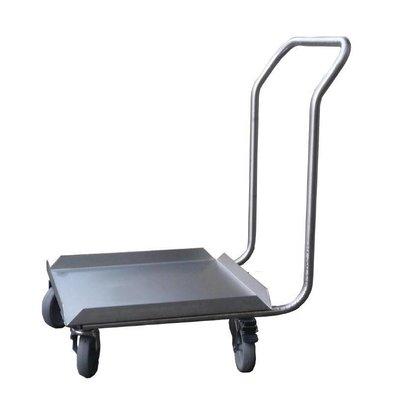 CHRselect Socle Inox pour Lave-Vaisselle avec Poignée   50x50cm
