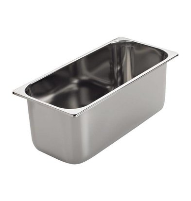 CHRselect Bac à Glace INOX   5 Litres   Gastro M   360x165x120mm
