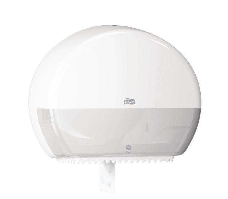 CHRselect Distributeur de Papier Toilette | Tork Mini Jumbo | 345x132x275(h)mm