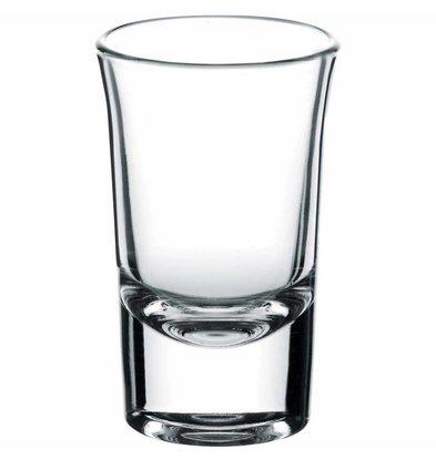 CHRselect Verre à Vodka Boston Shots | 40ml | Ø44x71(h)mm | Par 24 Pièces