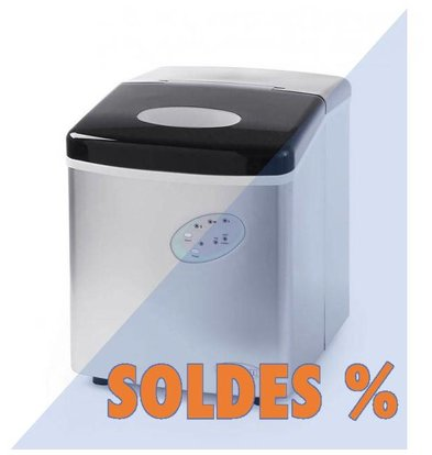 Hendi Machine à Glaçons 12kg/24h | ABS | 130W | 320x367x378(h)mm | PROMOTION XXL!