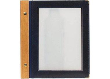 Protège-Menus Wood | Format A4 et A5 | Intérieur et Extérieur | 8 COULEURS