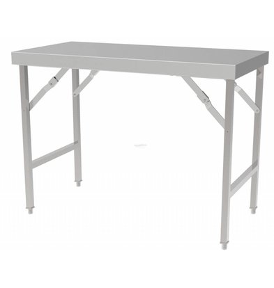 Combisteel Table de Travail Pliante | 1200x700x850(h)mm
