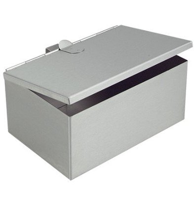 CHRselect Collecteur à Cendre | INOX | 200x140x90(h)mm