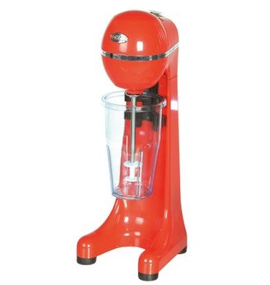 CHRselect Mixeur à Boissons | ABS Rouge | 400W | Gobelet Transparant