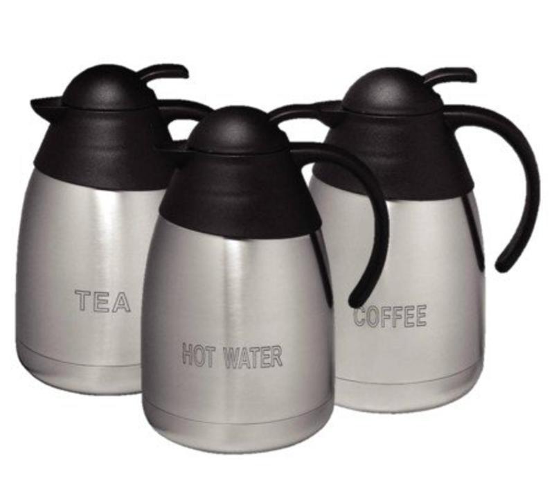 CHRselect Set de 3 Pichets Isotherme!   3x 1,5 Litres   Tea, Coffee, Hot water   PROMOTION XXL!