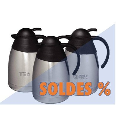 CHRselect Set de 3 Pichets Isotherme! | 3x 1,5 Litres | Tea, Coffee, Hot water | PROMOTION XXL!
