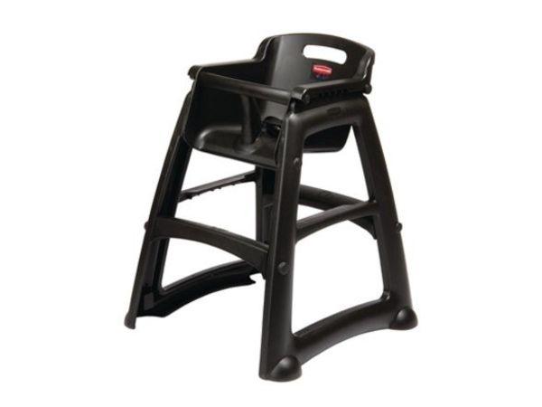 Rubbermaid Chaise Haute Rubbermaid | Très Robuste | Harnais Réglable