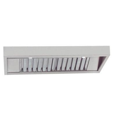 CHRselect Hotte Inox | Eclairage et Régulateur Vitesse | 120W | 114x48cm