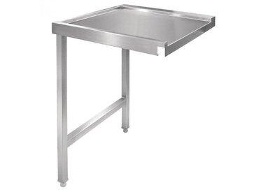 Tables d'Entrée et Sortie INOX