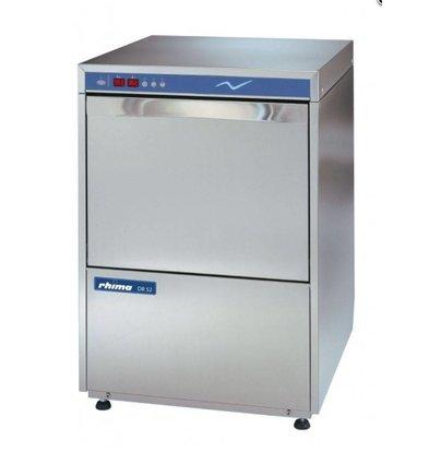 Rhima Lave-Vaisselle PROFOND 68cm pour Plateaux | Rhima DR52E | Double Paroi, Isolé | Doseur de Rinçage