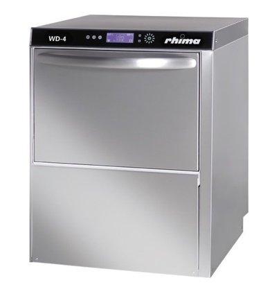 Rhima Lave-Vaisselle 50x50cm DIGITAL | Rhima WD-4 Plus | Double Paroi | Doseur de Rinçage + Lavage + Pompe de Vidange