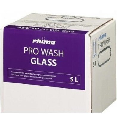 Rhima Rinçage pour Verre | Pro Wash Glass  | Bag in Box |5 Litres