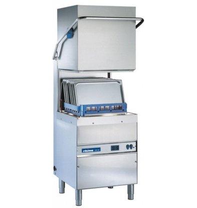 Rhima Lave Vaisselle à Capot 50x50cm | Rhima DR59 PLUS | max. (H)410mm | Doseur de Rinçage + Breaktank + Pompe Surpresseur